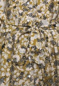 Object - OBJAZZA DRESS - Košilové šaty - khaki - 4