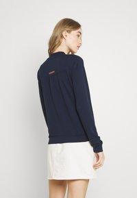 Ragwear - KENIA - Zip-up sweatshirt - navy - 2