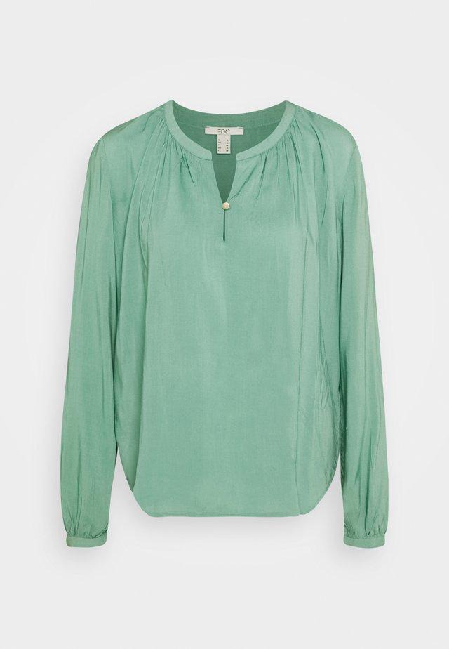 Blouse - dusty green