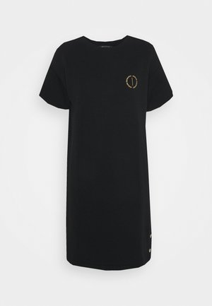 VESTITO FRENCH TERRY - Day dress - black