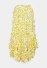 Thought - OTOMI TIERED SKIRT - A-line skirt - lemon yellow - 1