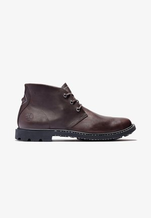 BELANGER EK+ CHUKKA - Lace-up boots - burgundy full grain