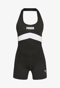 NEON BRIGHTS ACTIVE BODYSUIT - Gym suit - black