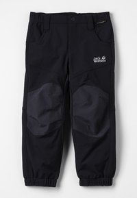 Jack Wolfskin - RASCAL WINTER PANTS KIDS - Kalhoty - black - 0