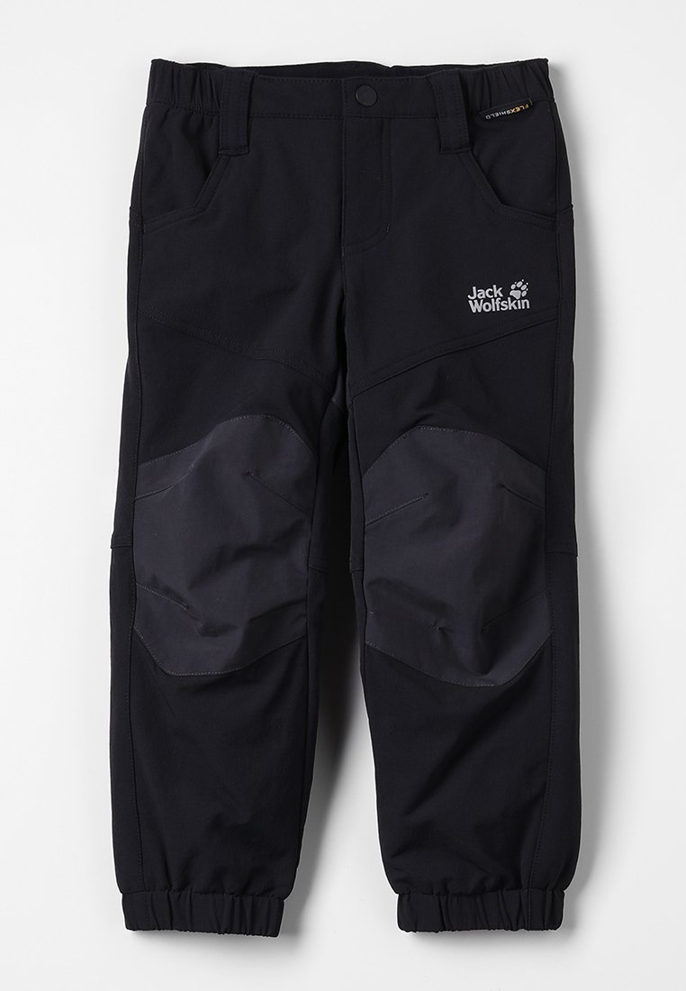 Jack Wolfskin - RASCAL WINTER PANTS KIDS - Kalhoty - black