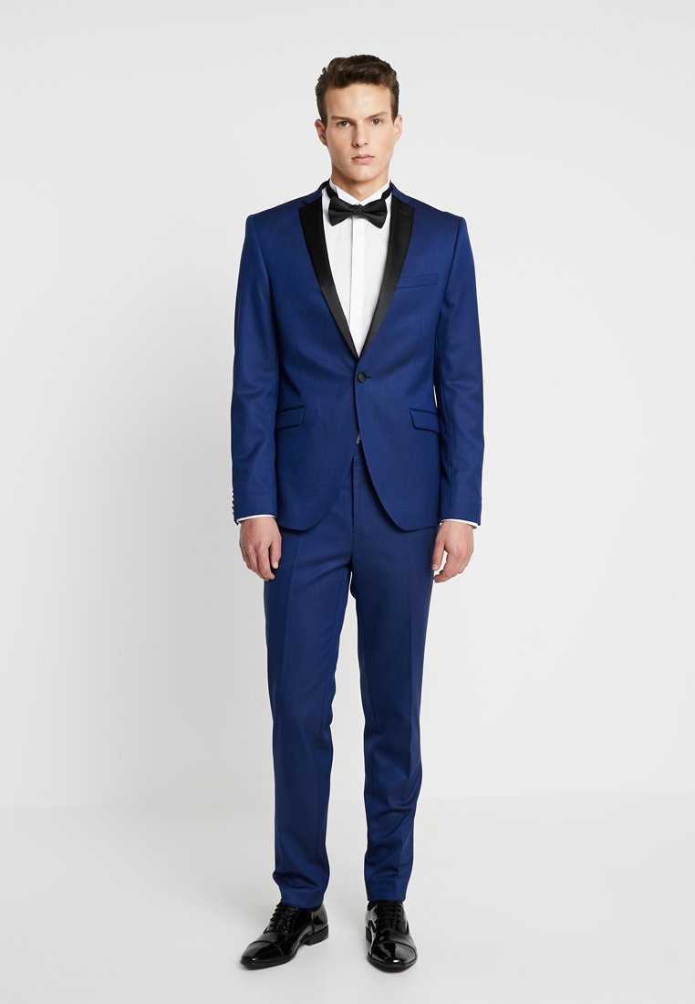 Shelby & Sons - COFTON TUX SUIT - Puku - navy