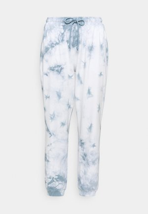 NMILMA PANTS - Tracksuit bottoms - blue fog/tie dye sugar swizzle
