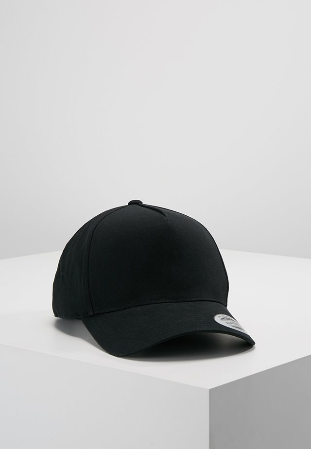 5-PANEL CURVED CLASSIC SNAPBACK - Casquette - black