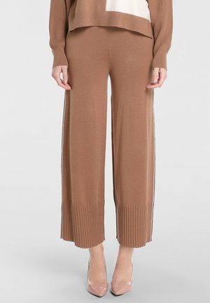 Trousers - karamell
