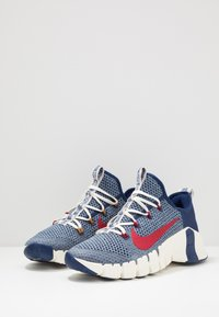 Nike Performance - FREE METCON 3 AMP - Sports shoes - deeproyal blue/gym red/deep royal blue - 2