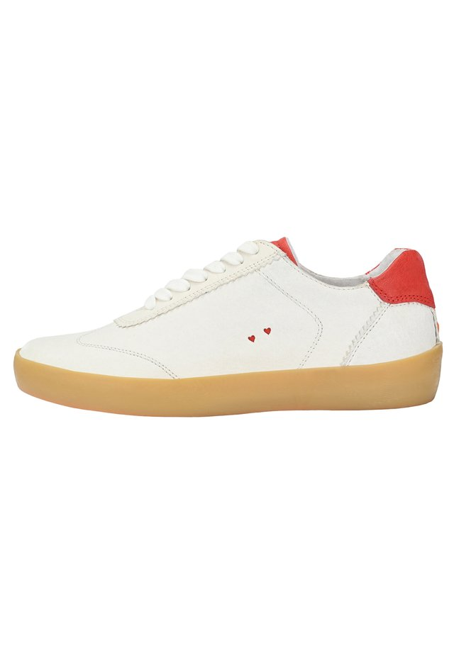 SNEAKER AMELIE - Trainers - weiß rot