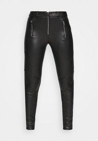 Topshop - Trousers - black - 3