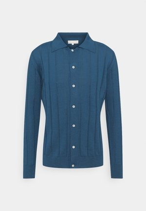 BREWER CARDIGAN - Cardigan - ensign blue