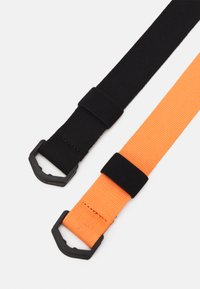 Zign - 2 PACK UNISEX - Belt - orange/black - 1
