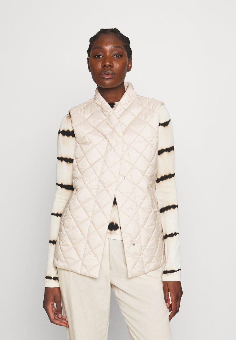 Lindex - VEST VENDELA - Waistcoat - light beige