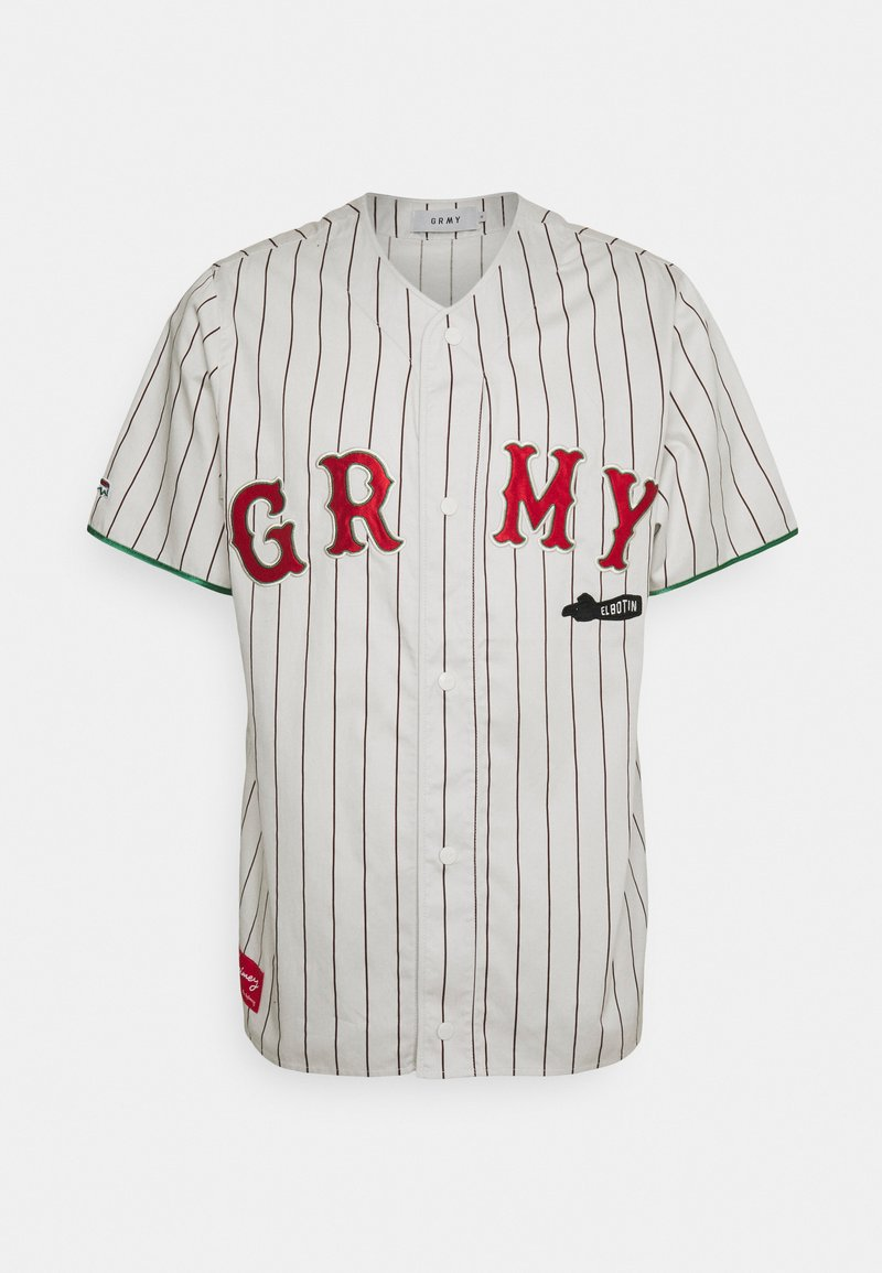 Grimey - THE LOOT EL BOTIN BASEBALL UNISEX  - Košile - white