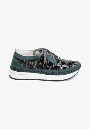 Sneakersy niskie - zielony