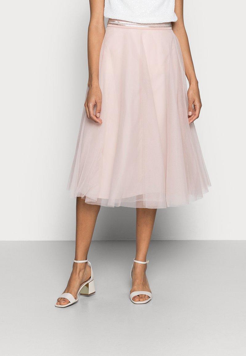 Esprit Collection - SKIRT - A-line skirt - nude