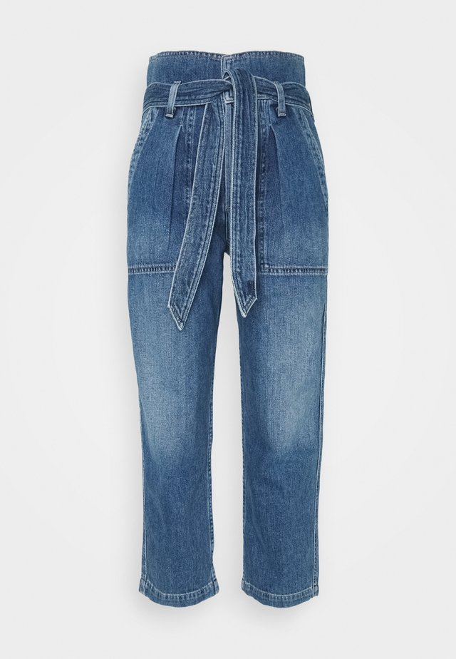 NOELLE  - Relaxed fit jeans - blue denim
