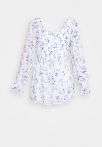 Hollister Co. - ROMPER - Overal - white floral - 4