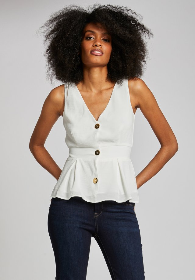 Blouse - off-white