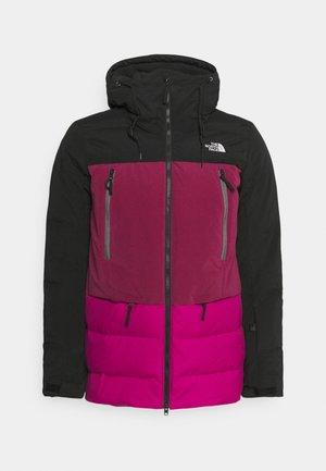 PALLIE JACKET - Down jacket - black/pink