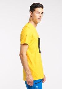 Haglöfs - Print T-shirt - pumpkin yellow - 2