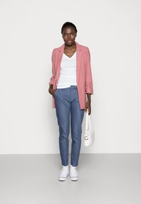 Mos Mosh - ABBEY PANT  - Trousers - indigo blue - 2