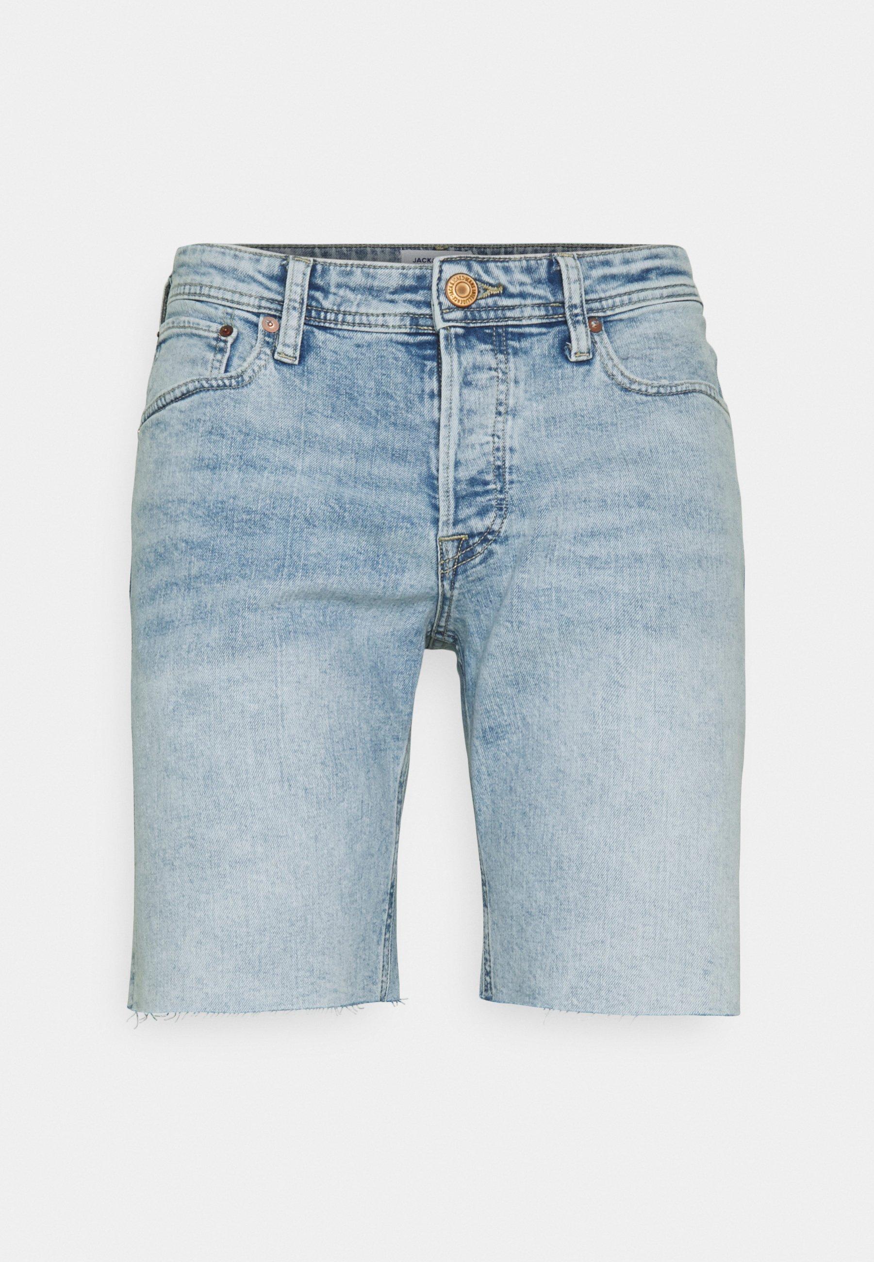 Uomo JJIRICK JJORIGINAL CUT OFF - Shorts di jeans
