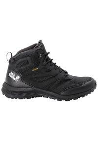 Jack Wolfskin - WOODLAND TEXAPORE MID - Hiking shoes - black - 4