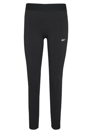 LINEAR LOGO - Leggings - black