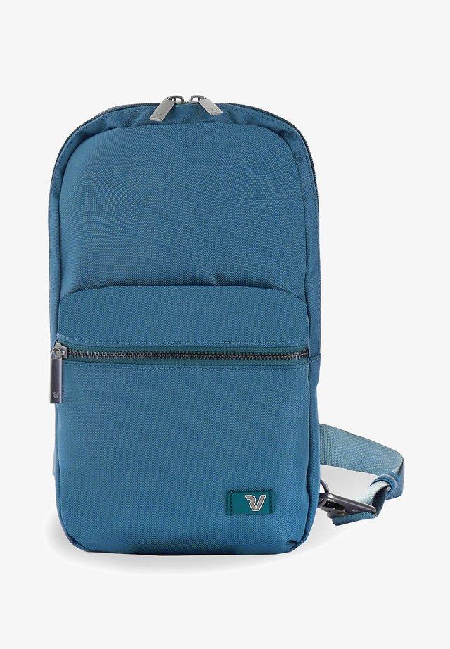 BROOKLYN REVIVE - Across body bag - blue denim