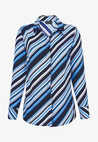 Laura Kent - Button-down blouse - marinebla weiß - 2
