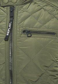 Replay - JACKET - Light jacket - khaki - 7