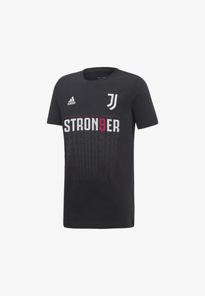 JUVENTUS WINNER T-SHIRT ITALIAN CHAMPION 2020 - Print T-shirt - black
