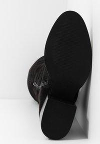Zign - Botas mosqueteras - black - 6
