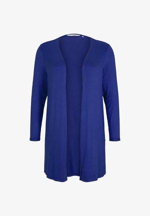 Cardigan - crest blue