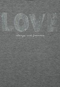 Street One - MIT AUFSCHRIFT - Print T-shirt - grau - 4