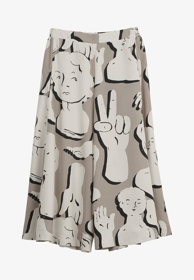 SCULPTURES - Trousers - grey