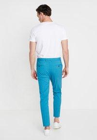 Lindbergh - PLAIN MENS SUIT - Oblek - turquoise melange - 5