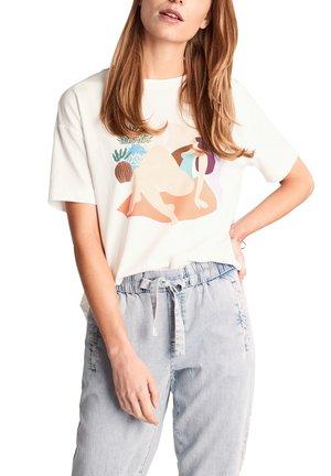 MIT ART PRINT - Print T-shirt - white placed print