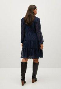 Violeta by Mango - CAPA - Day dress - dunkles marineblau - 2