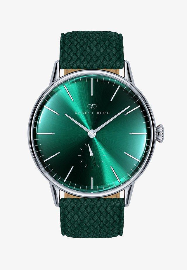 UHR SERENITY GREENHILL EYE DARK GREEN PERLON 40MM - Orologio -  green