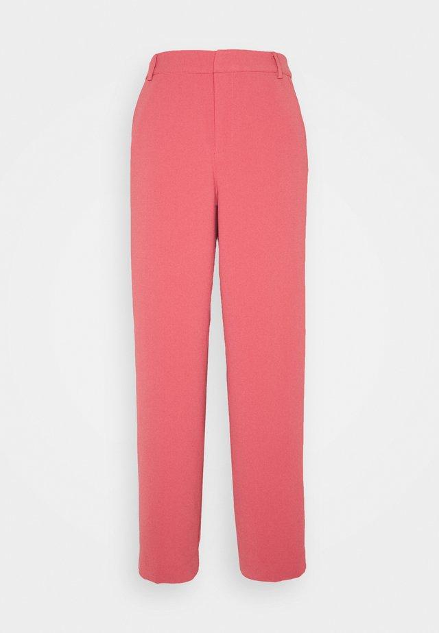 ELICIASZ PANTS - Kalhoty - slate rose