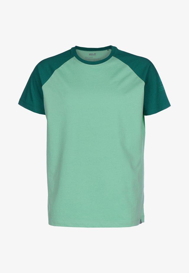 FLASH - T-shirt print - pacific green