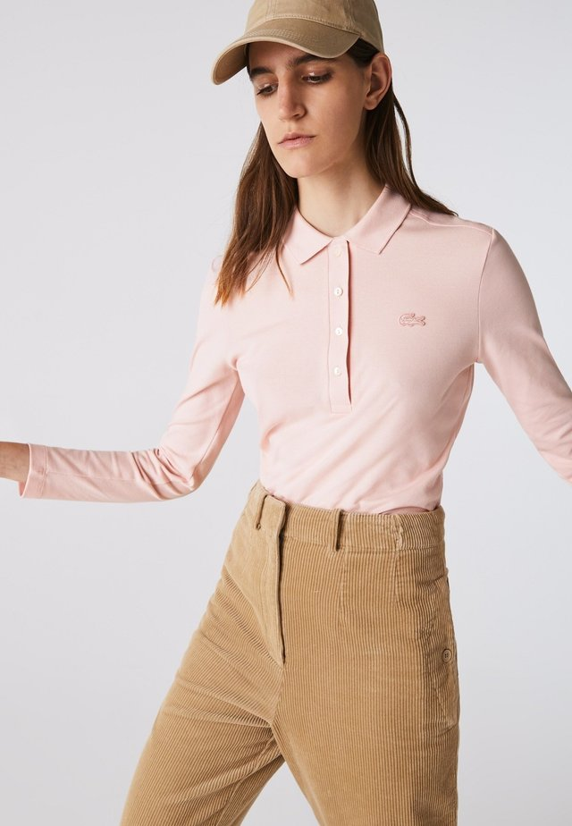 Polo shirt - rose pale
