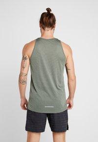 Nike Performance - DRY COOL MILER TANK - Sports shirt - juniper fog/silver - 2