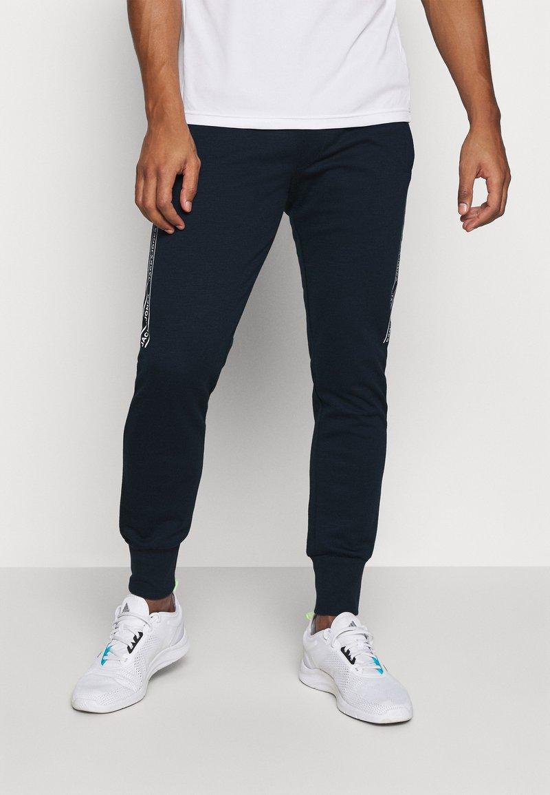 Jack & Jones - JCOZHALF TAPE  - Pantaloni sportivi - navy blazer