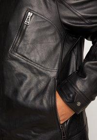 Belstaff - BIG & TALL V RACER  - Leather jacket - black - 5