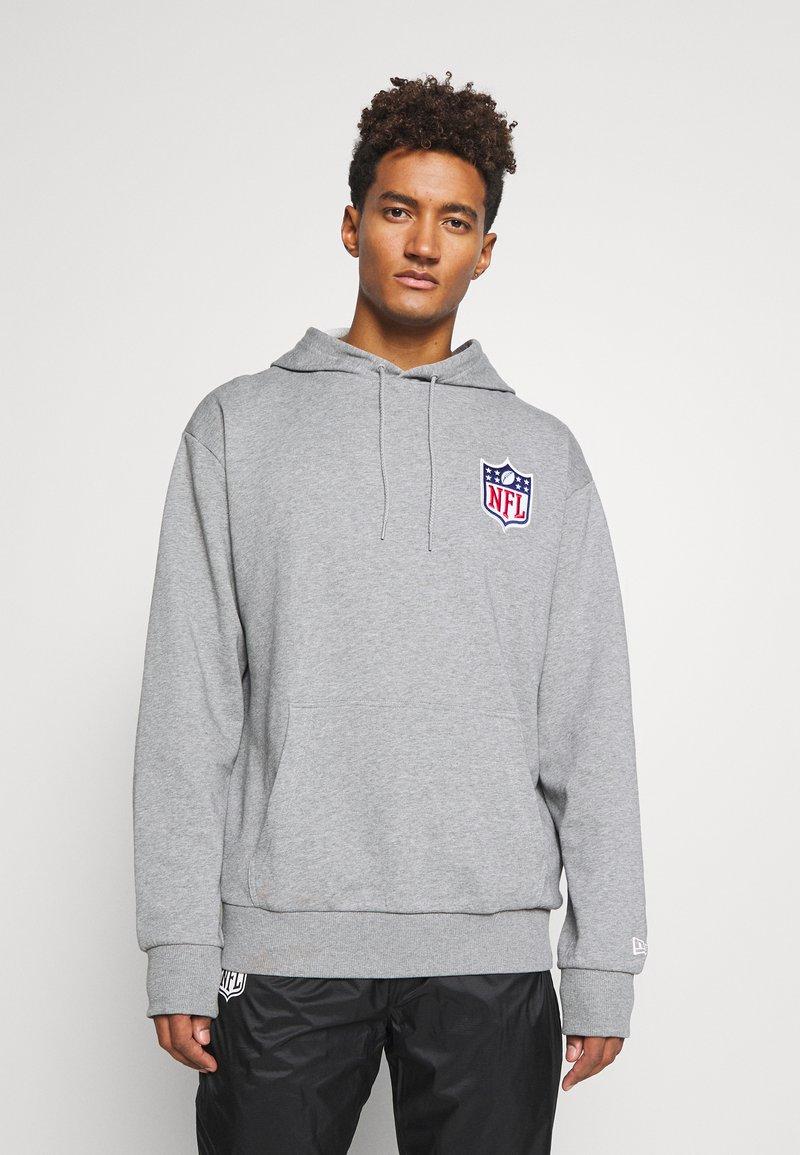 New Era - NFL DETAIL LOGO HOODY - Hoodie - grey